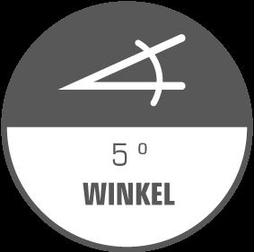 5-Grad-Winkel
