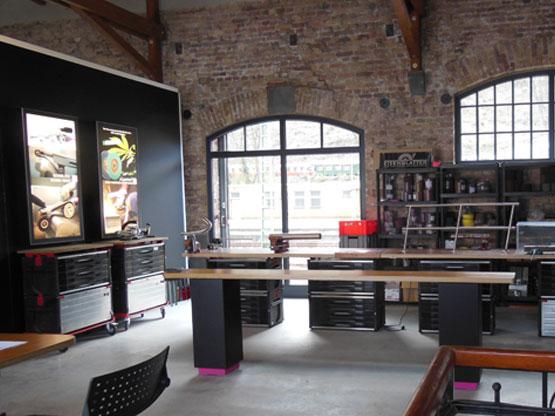 Werkstatt im Democenter