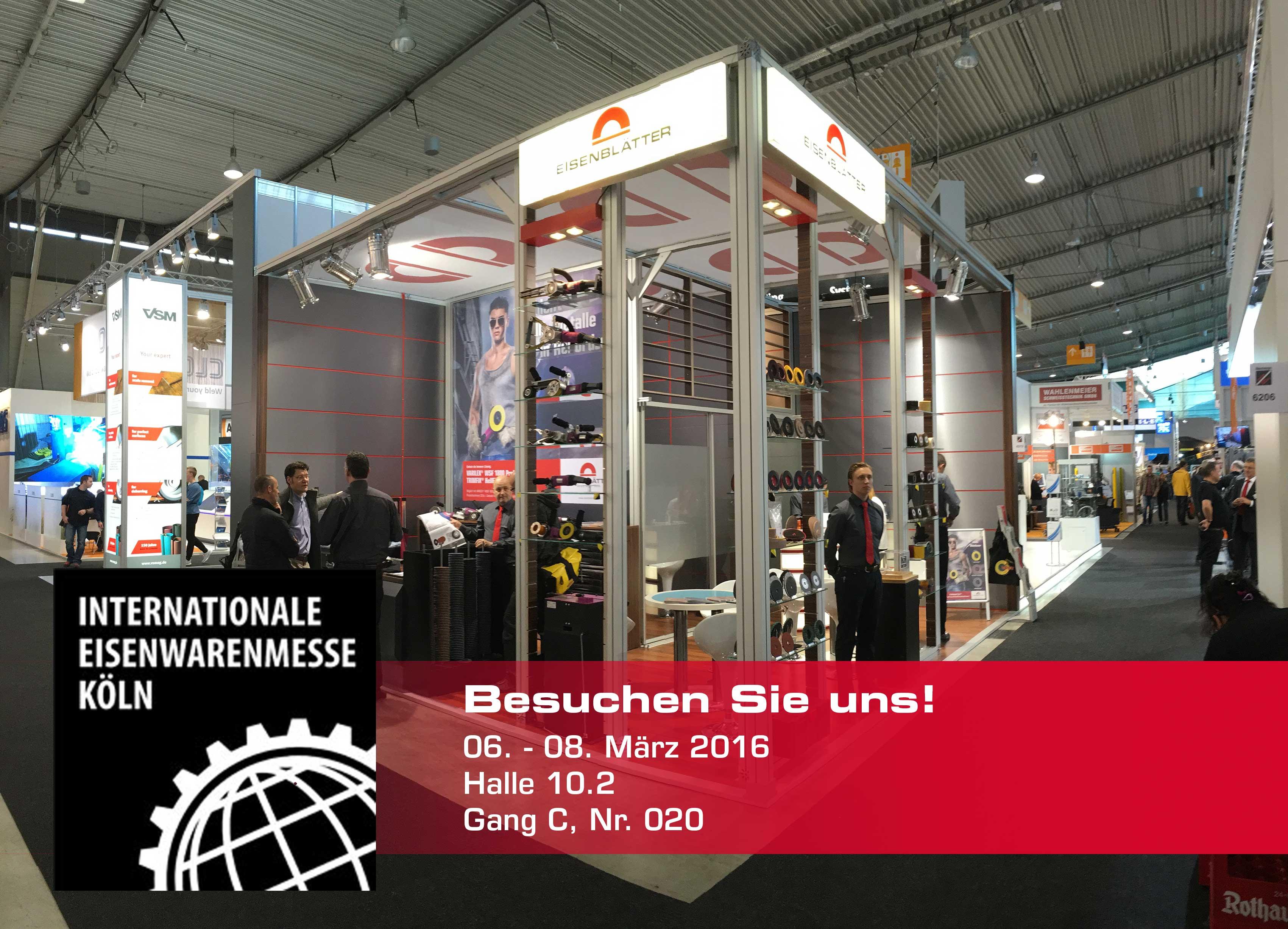 Internationale Eisenwarenmesse Köln 2016